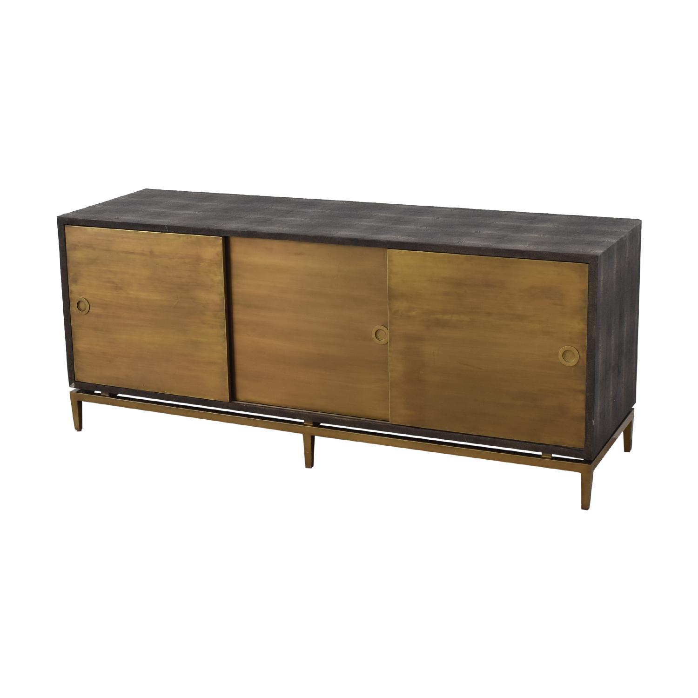 Noir Shagreen Cabinet sale
