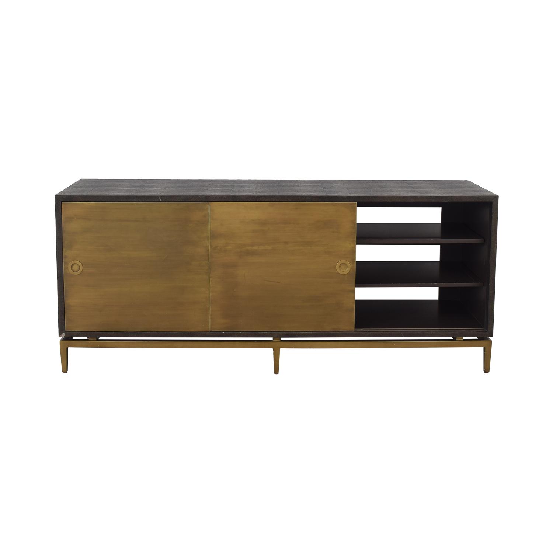 Noir Shagreen Cabinet Noir