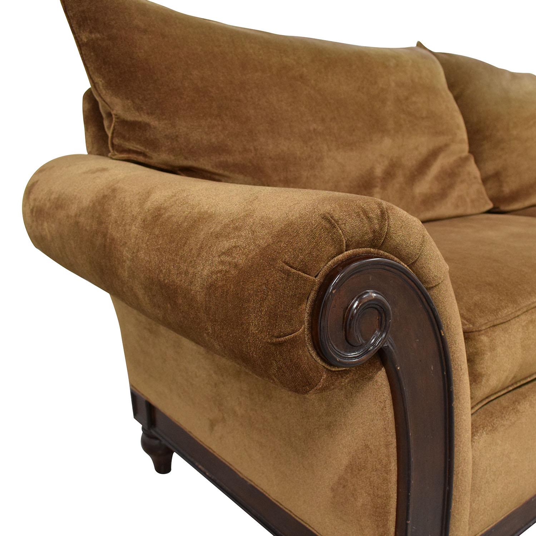 Thomasville Roll Arm Sofa sale