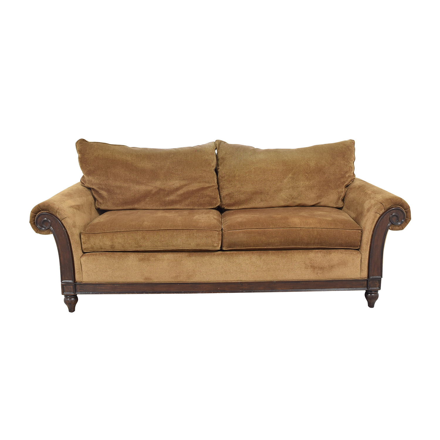 shop Thomasville Roll Arm Sofa Thomasville