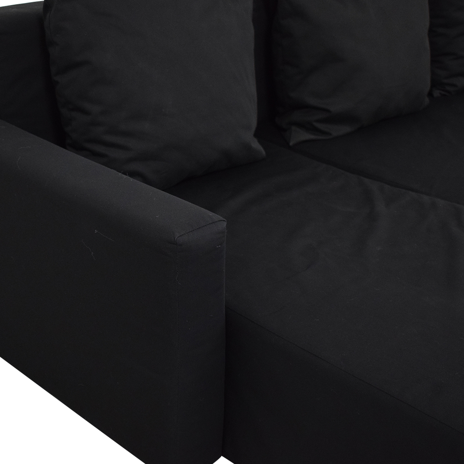 shop IKEA Lugnvik Sofa Bed with Chaise Lounge IKEA