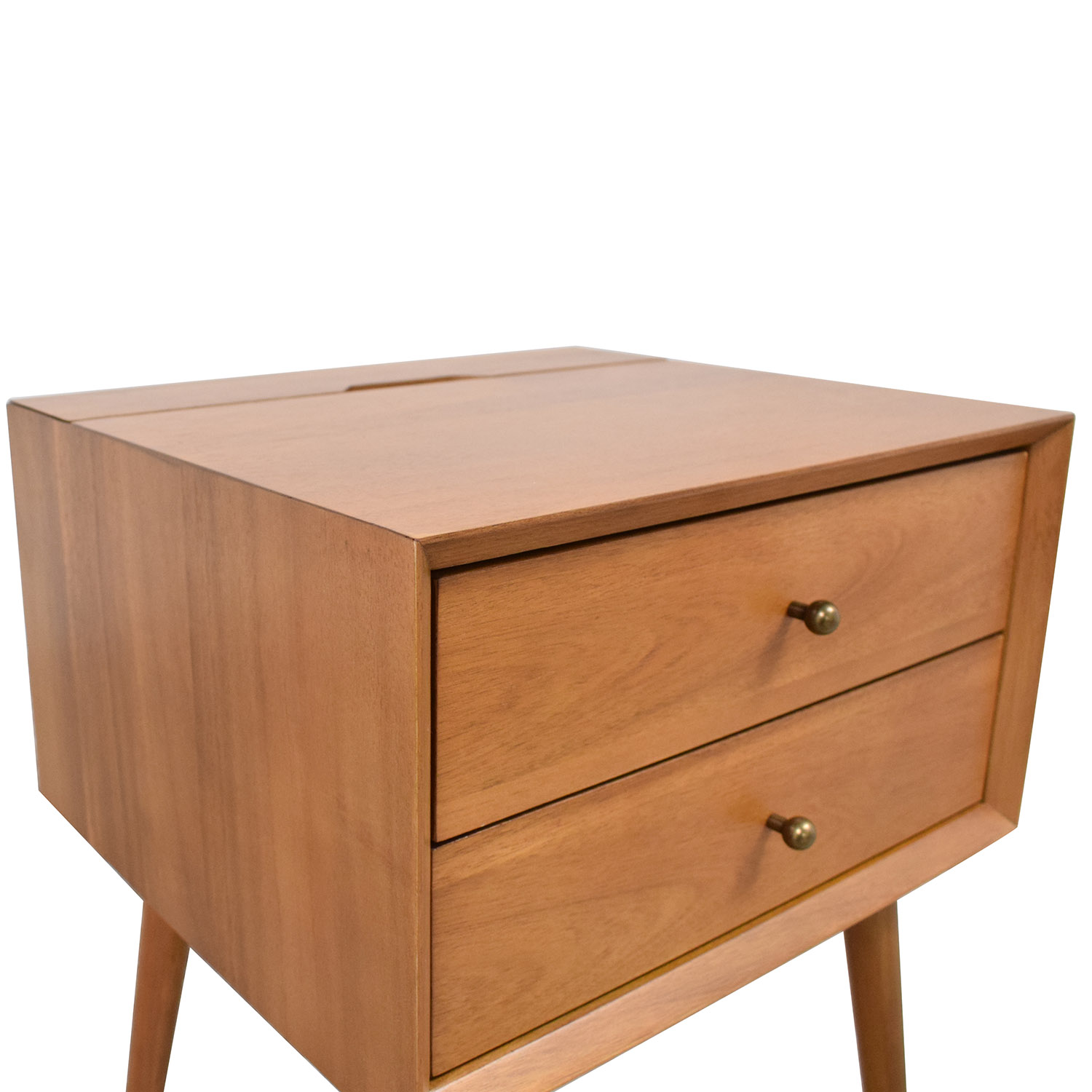 West Elm Mid Century Charging Nightstand sale