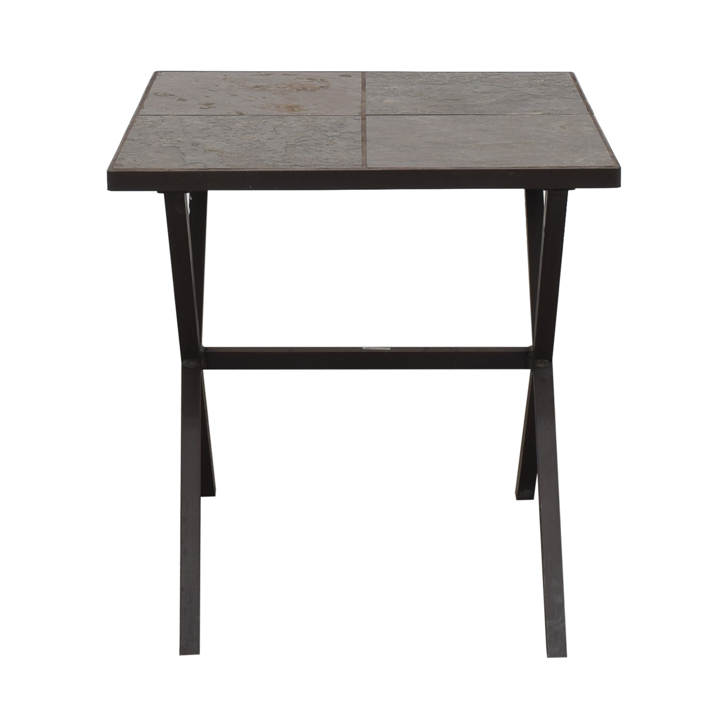 Charleston Forge Charleston Forge Tiled Side Table for sale