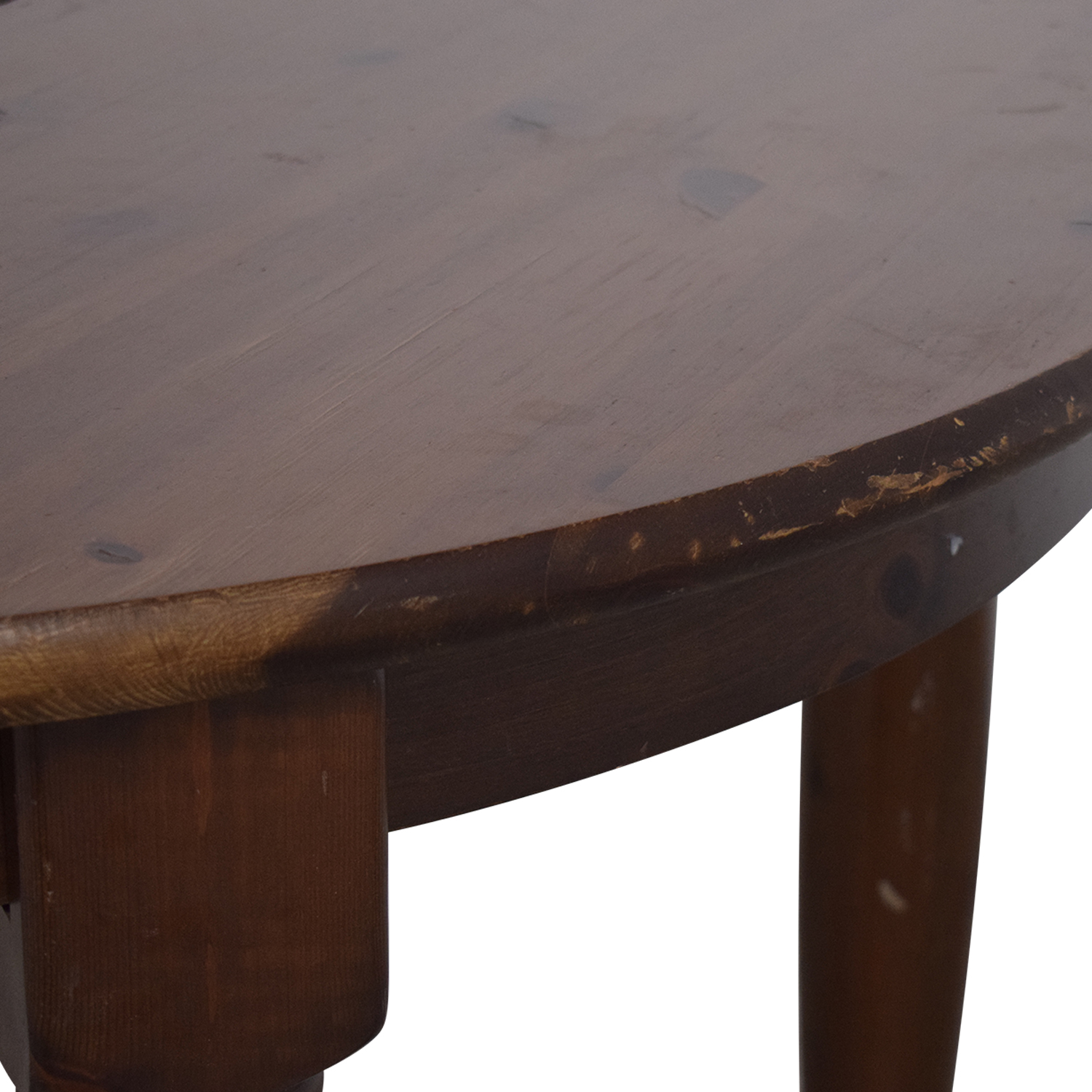 Pottery Barn Round Extension Dining Table / Dinner Tables