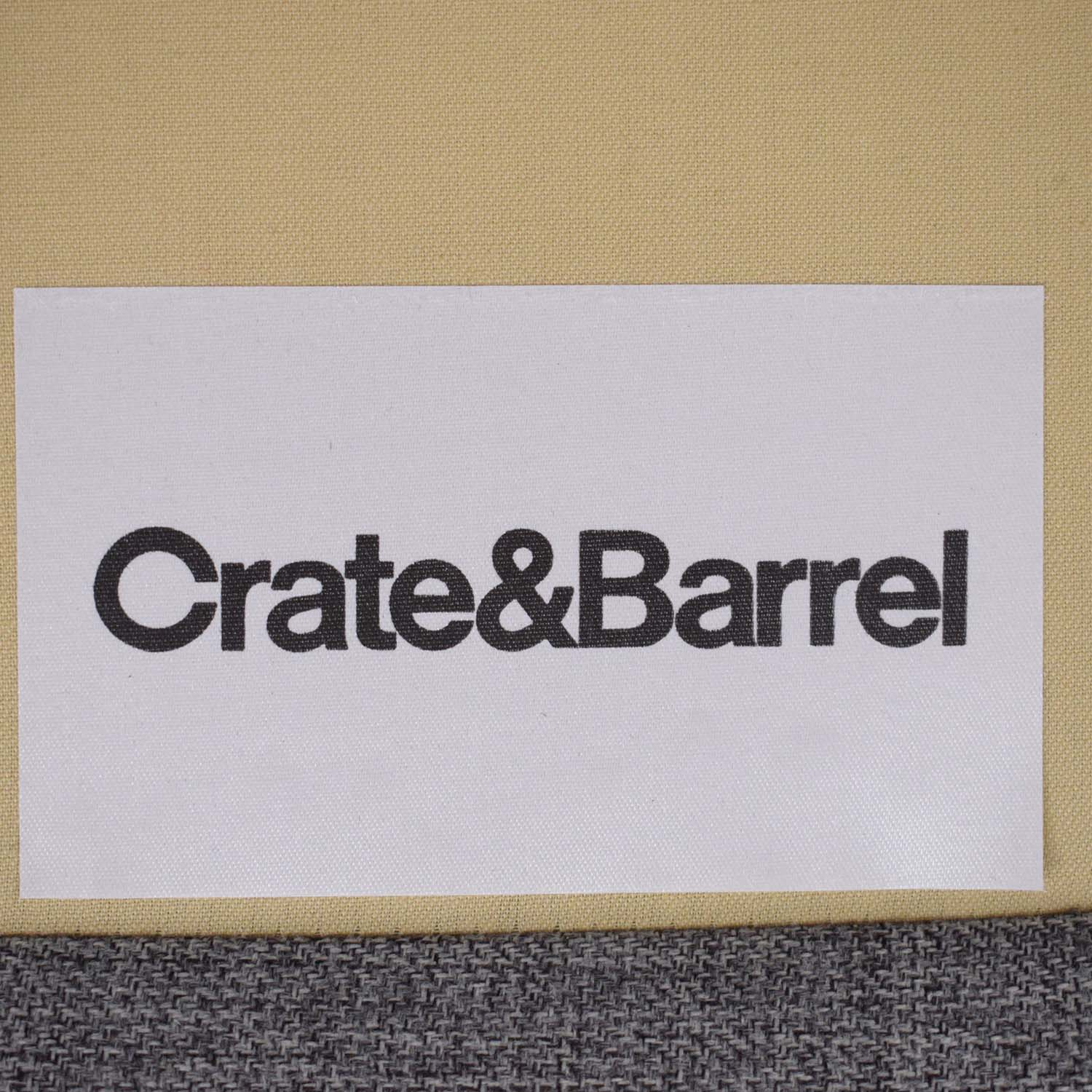 Crate & Barrel Crate & Barrel Petrie Mid Century Sectional Sofa with Chaise nyc