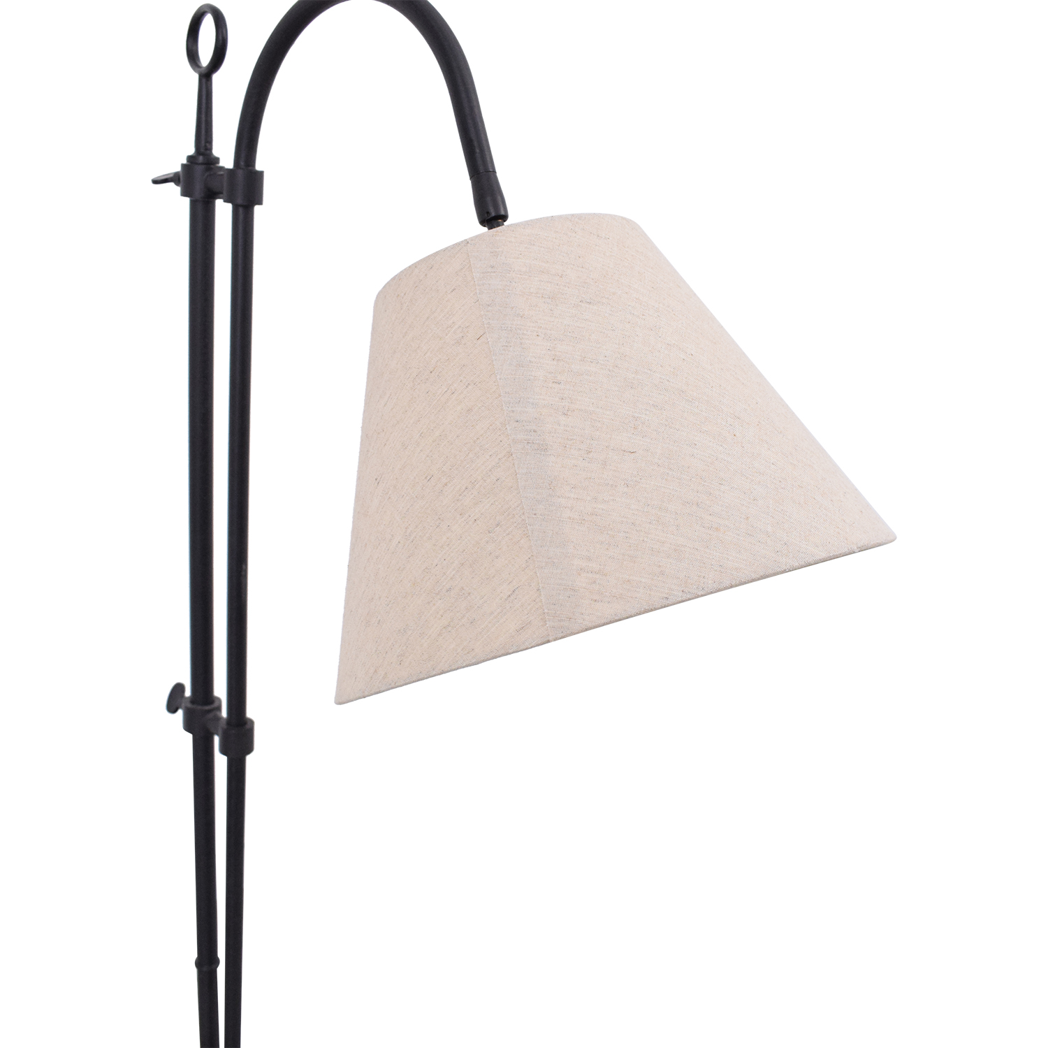West Elm Tall Steel Lamp / Decor