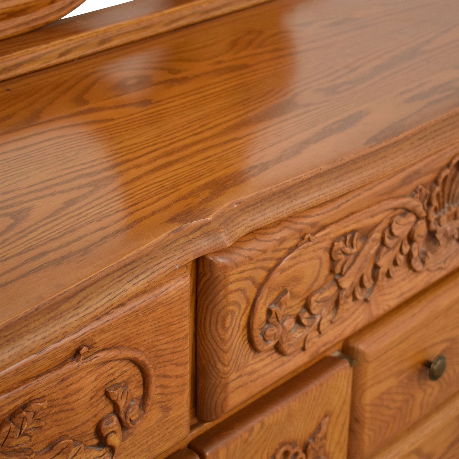 buy  Eight Drawer Dresser with Mirror online