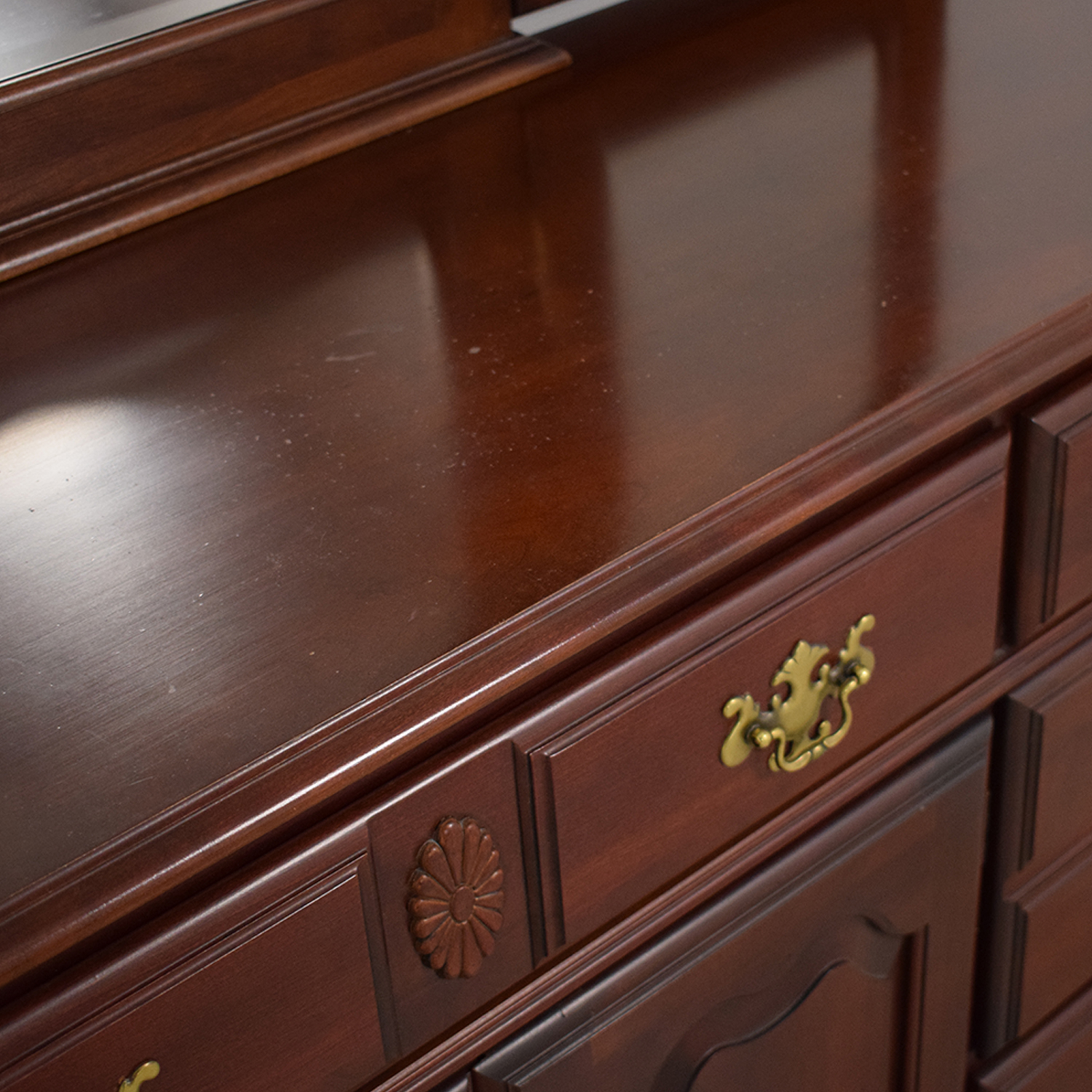 Pennsylvania House Seven Drawer Dresser with Cabinets sale