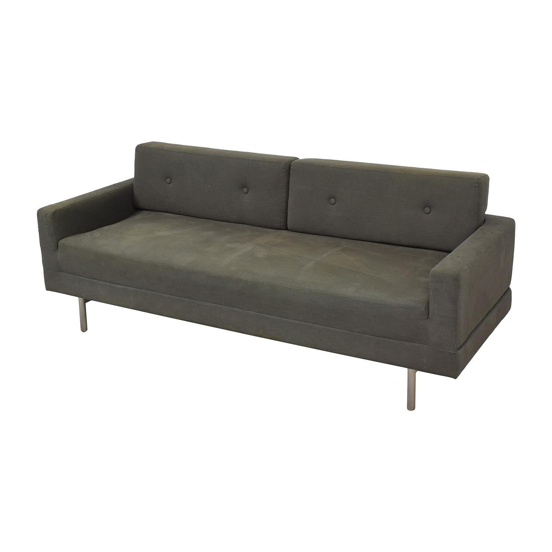 shop Blu Dot One Night Stand Sleeper Sofa Blu Dot