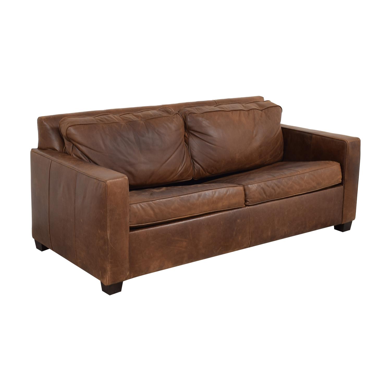 64 OFF   West Elm West Elm Henry Queen Sleeper Sofa / Sofas