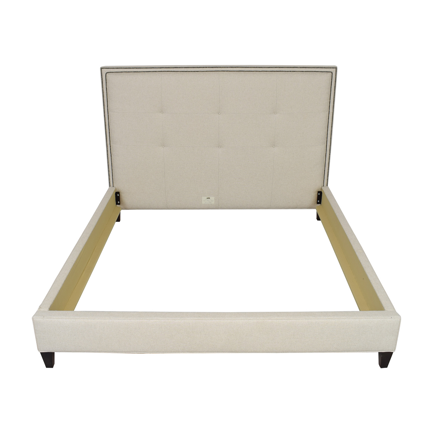 shop Lee Industries Lee Industries Square Tufted King Bed online
