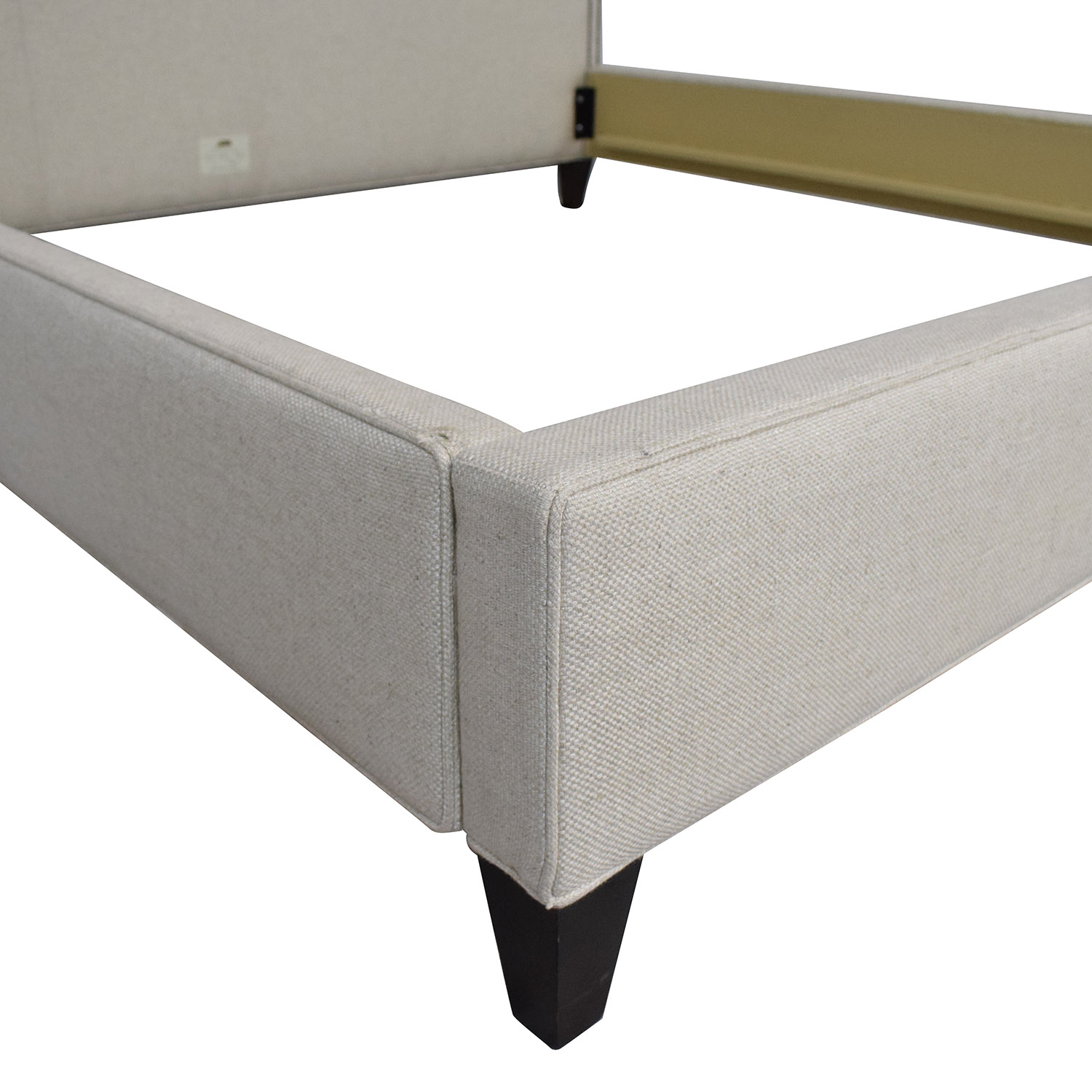 Lee Industries Square Tufted King Bed Lee Industries