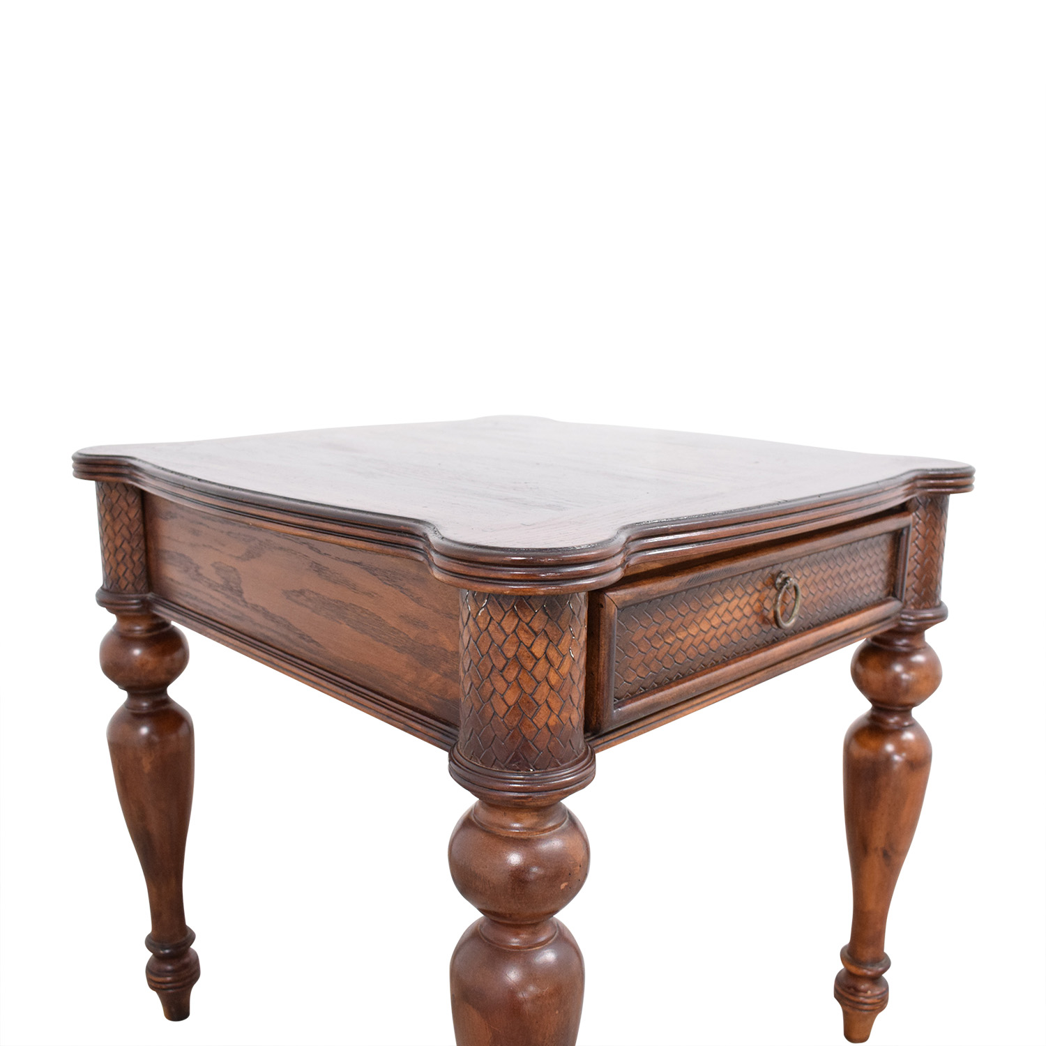 Living Room Side Table with Drawer dimensions