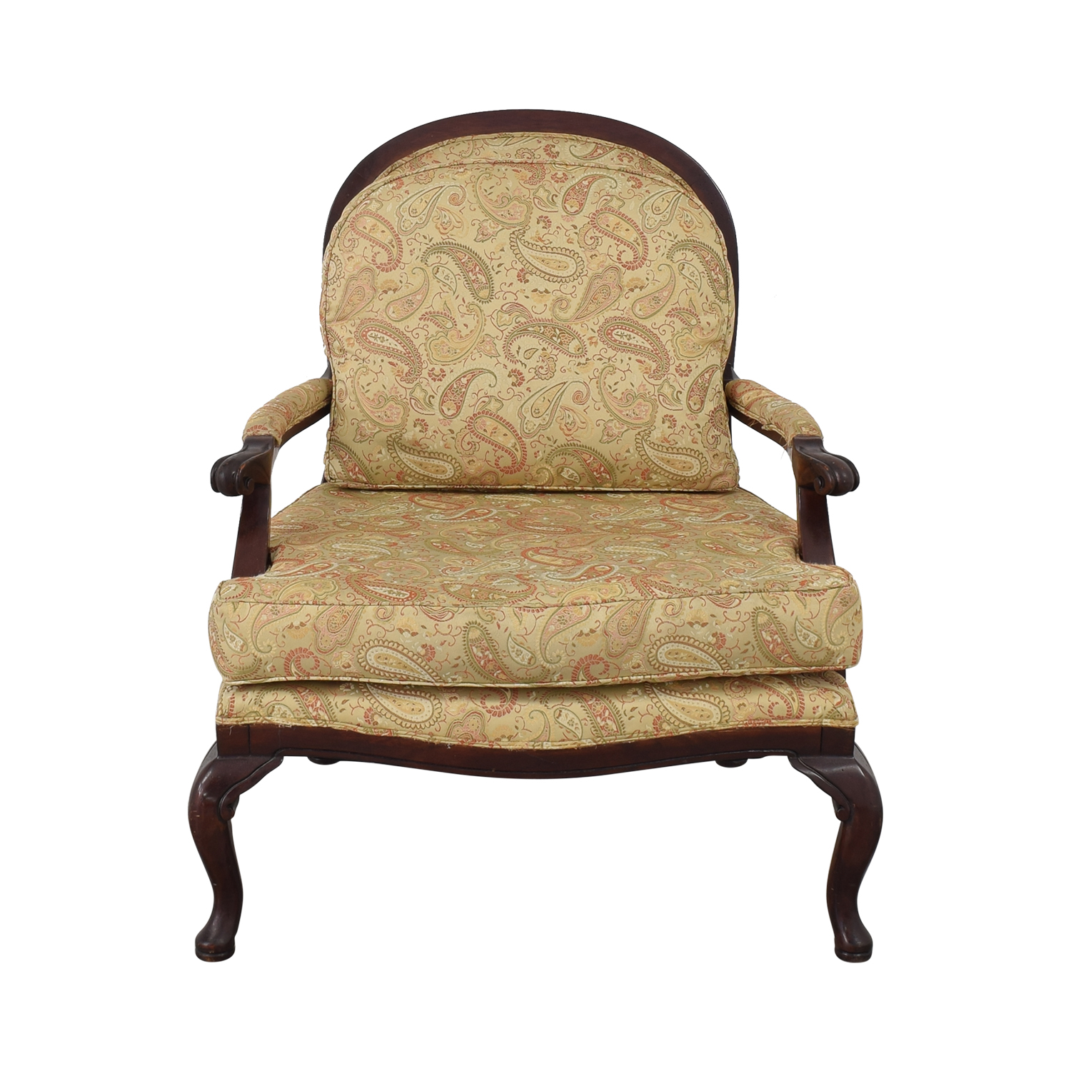 Paisley Upholstered Armchair coupon
