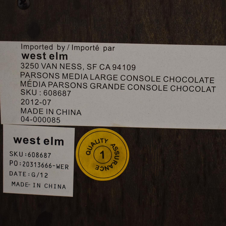 West Elm West Elm Parsons Media Console ma
