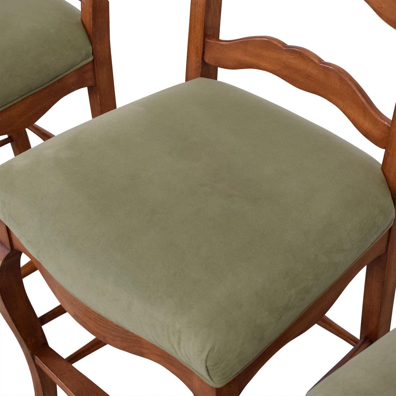 shop Ladder Back Upholstered Stools  Stools