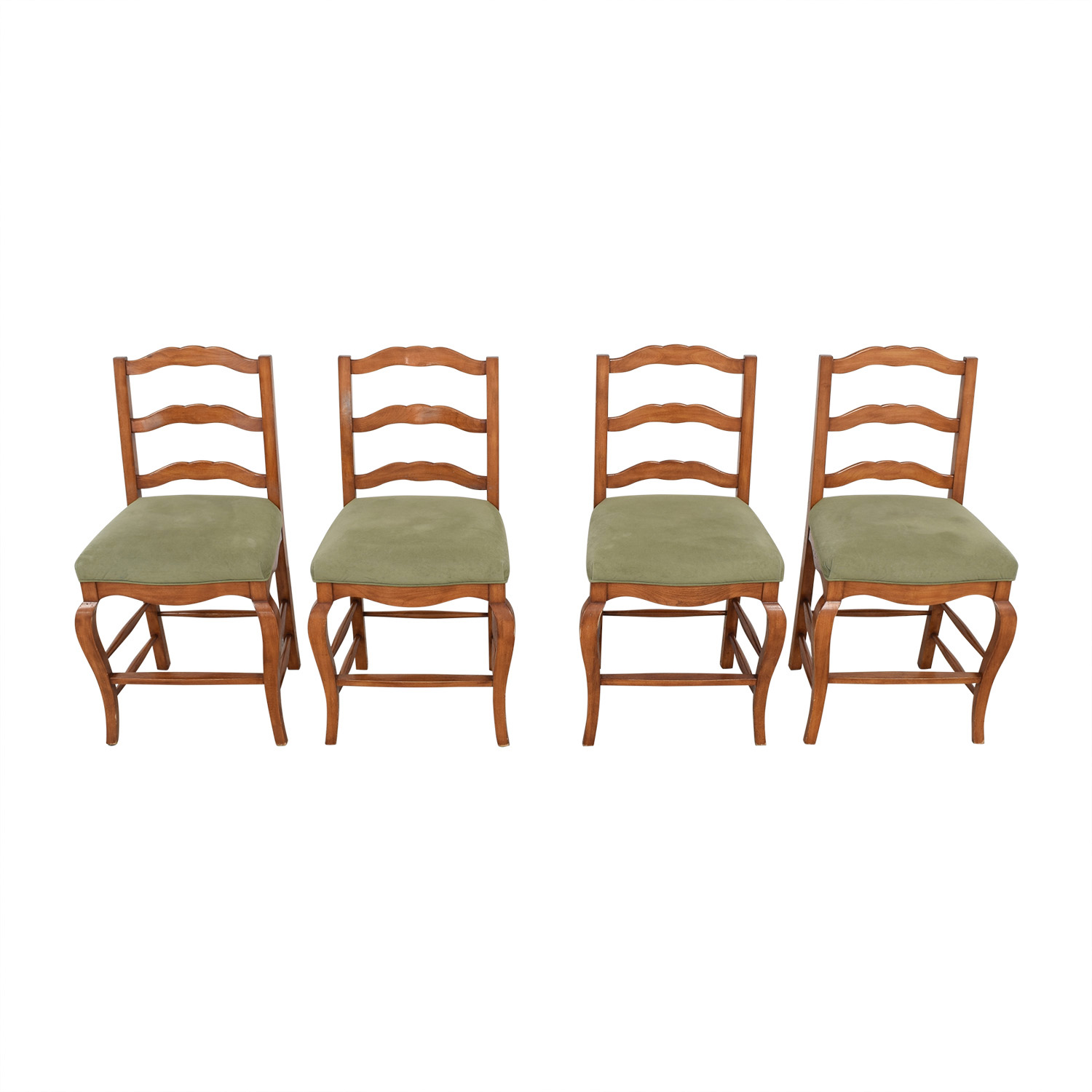 shop Ladder Back Upholstered Stools  Chairs