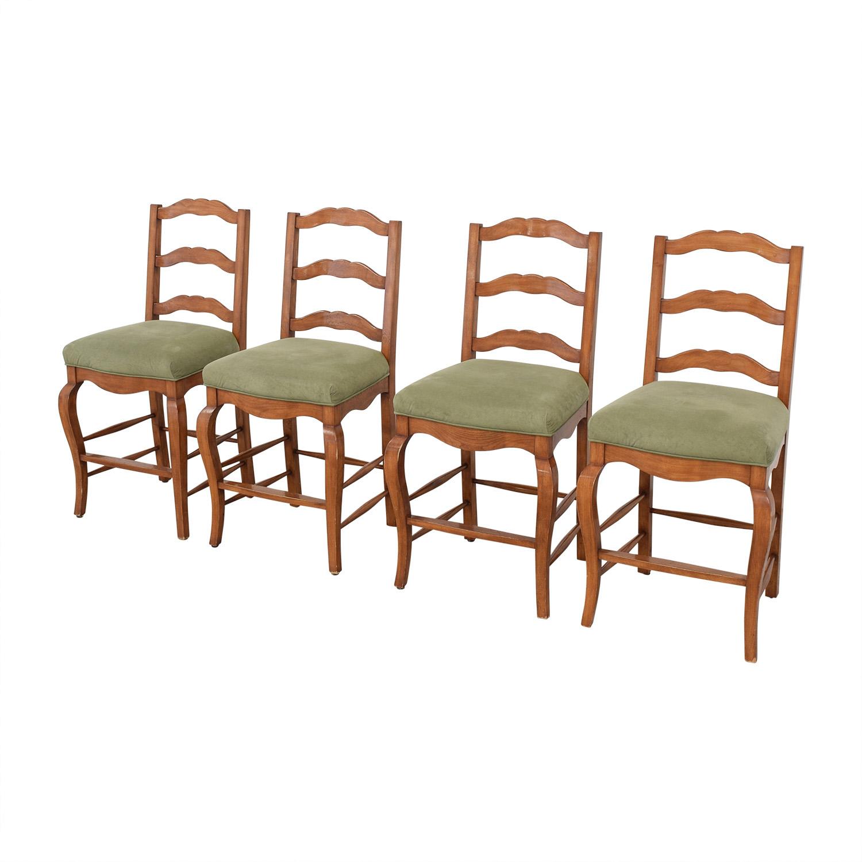 buy Ladder Back Upholstered Stools