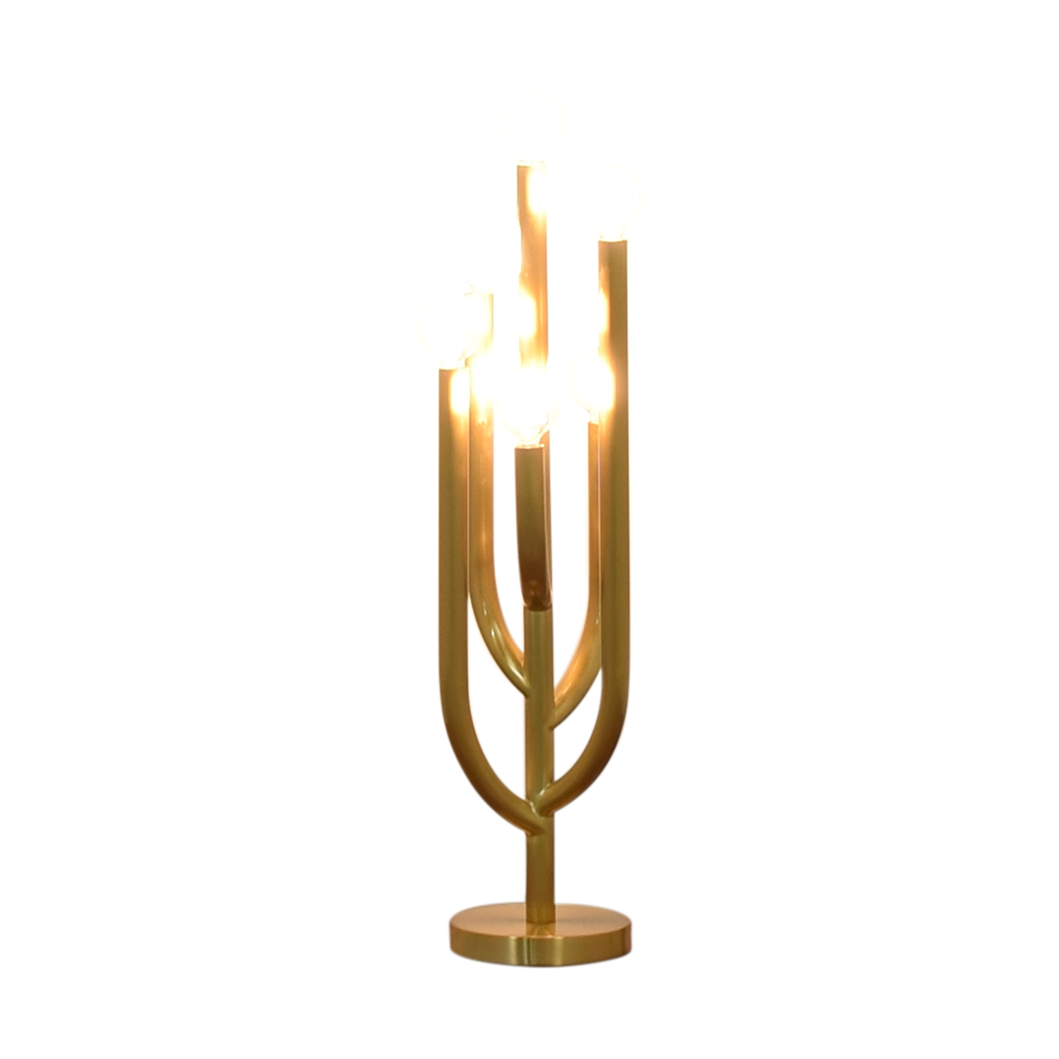 CB2 CB2 Fred Segal Cacti Glow Brass Table Lamp on sale