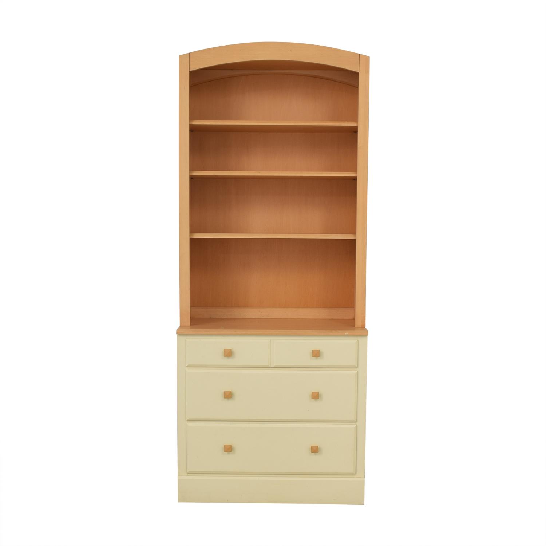 Ethan Allen Ethan Allen Bookcase and Dresser Combination nj