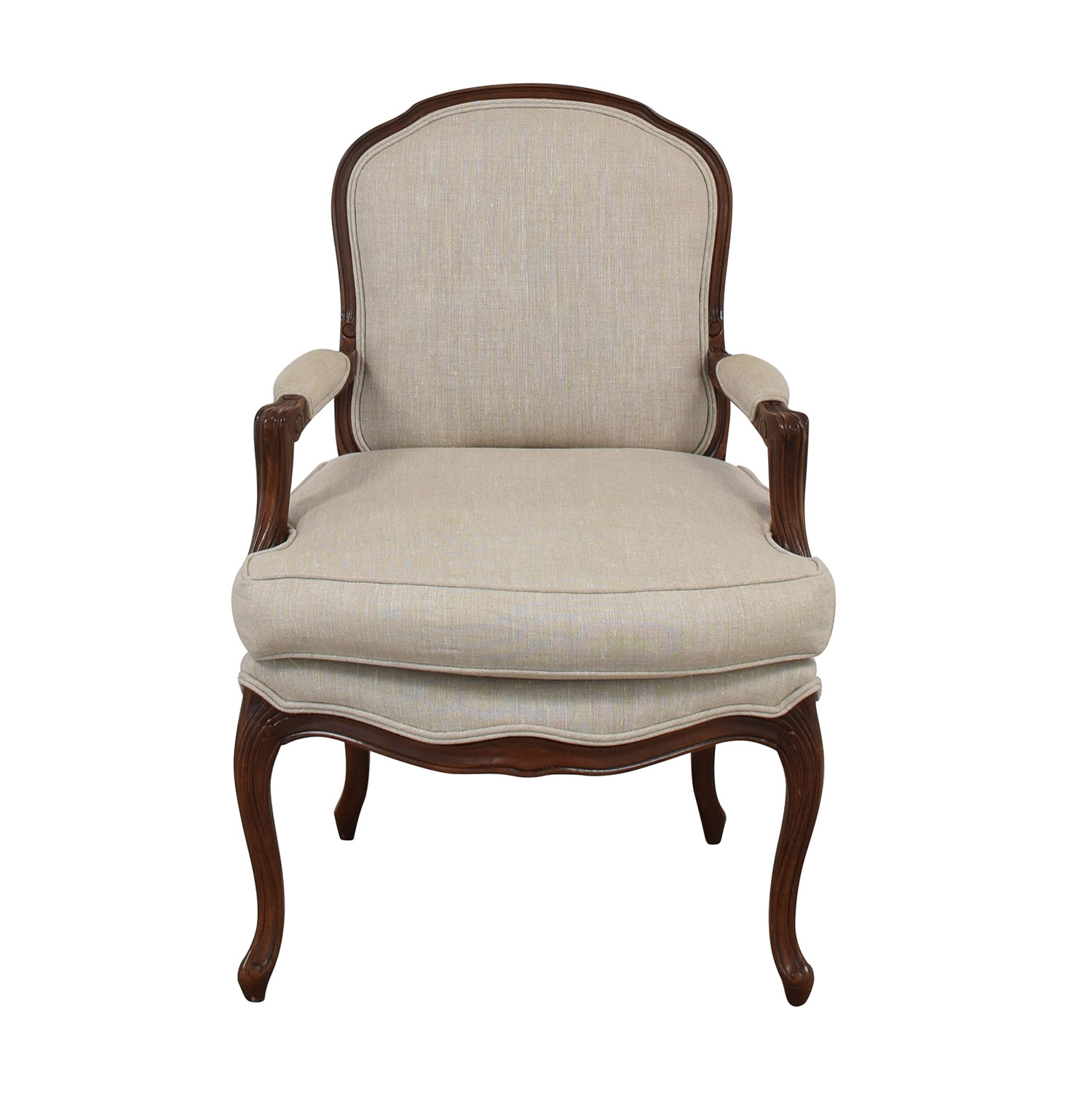 Custom Upholstered French Armchair / Chairs