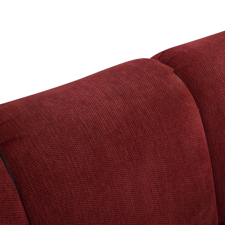 buy Ethan Allen Roll Arm Three Cushion Sofa Ethan Allen Classic Sofas