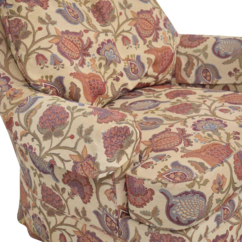 Ethan Allen Ethan Allen Charlotte Swivel Chair discount