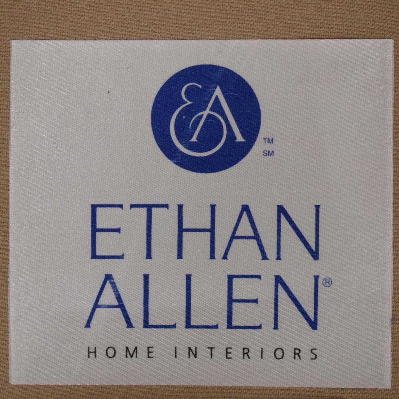 shop Ethan Allen Charlotte Swivel Chair Ethan Allen