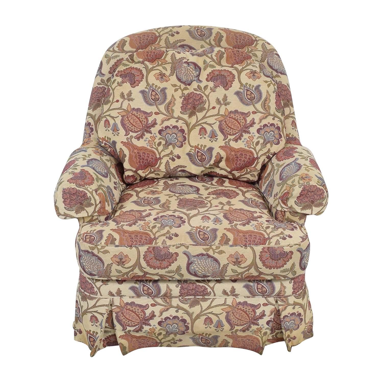 Ethan Allen Ethan Allen Charlotte Swivel Chair ct