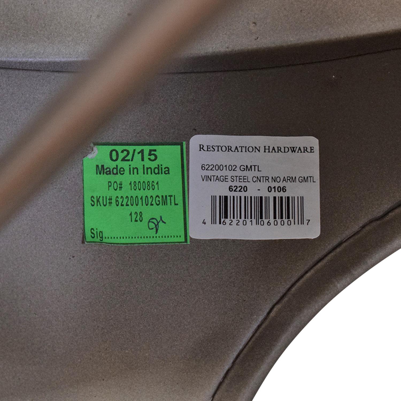 Restoration Hardware Restoration Hardware Remy Counter Stools grey