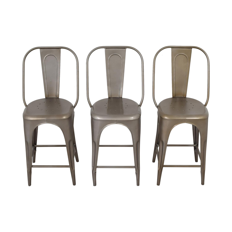 Fabulous 53 Off Restoration Hardware Restoration Hardware Remy Counter Stools Chairs Uwap Interior Chair Design Uwaporg