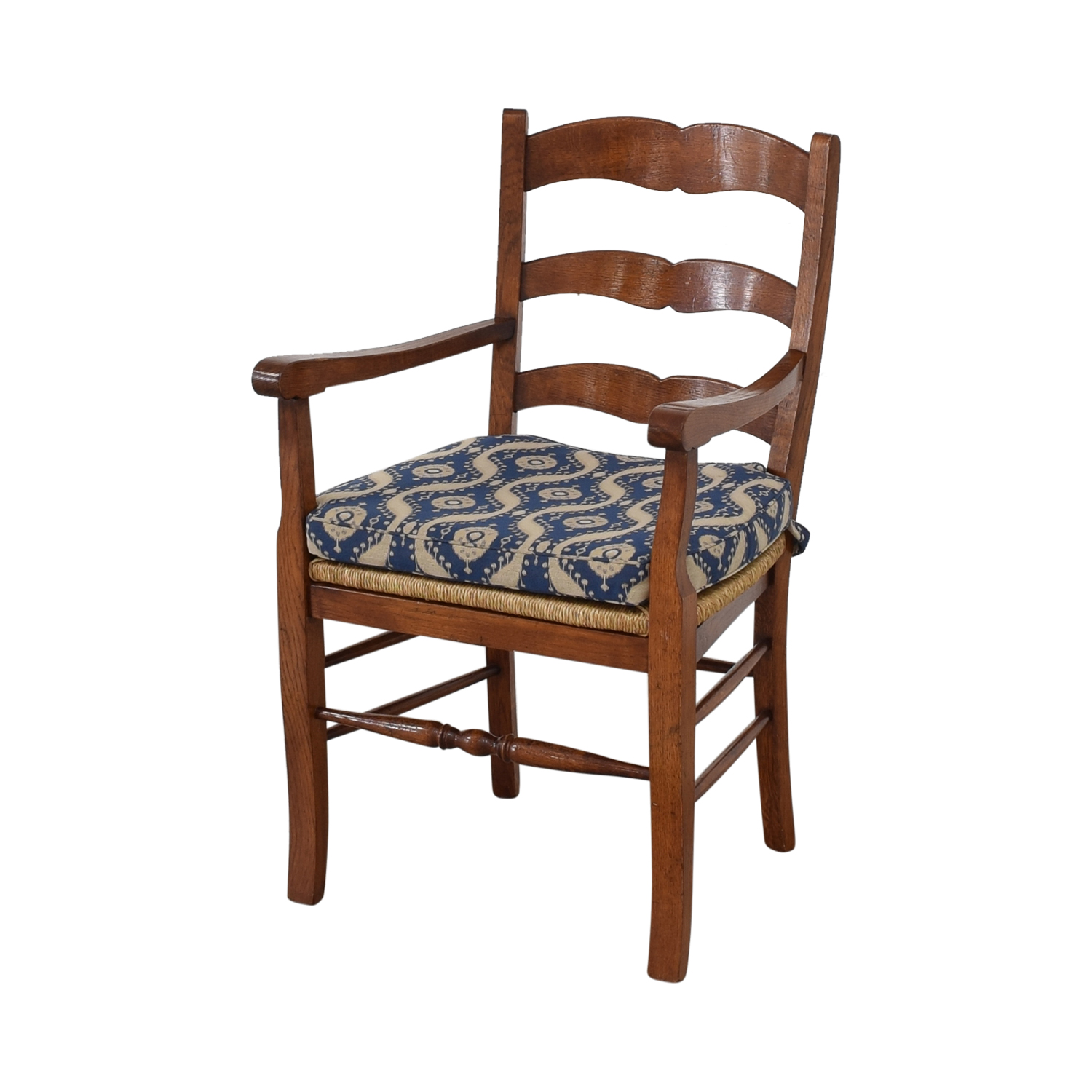 Ladder Back Cushioned Dining Chairs ct