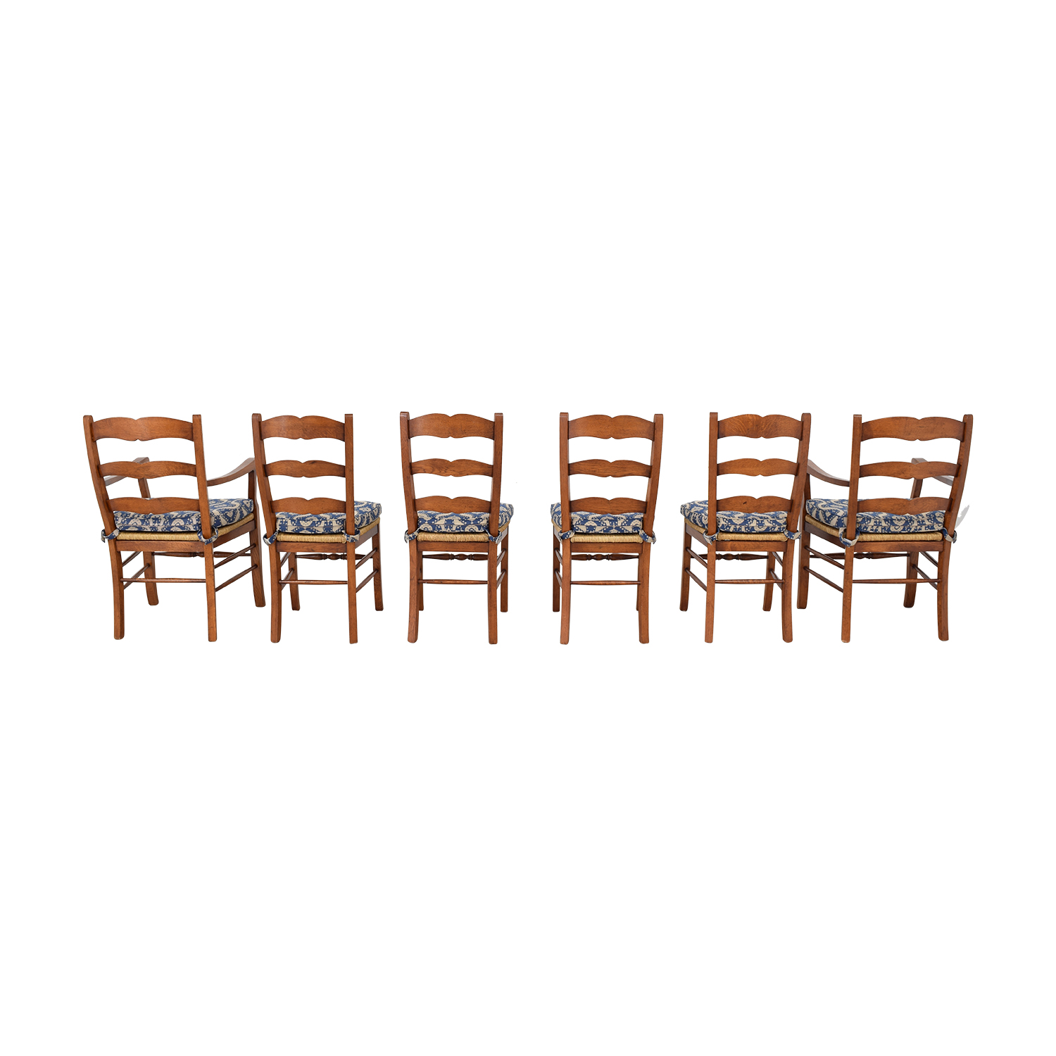 shop Ladder Back Cushioned Dining Chairs