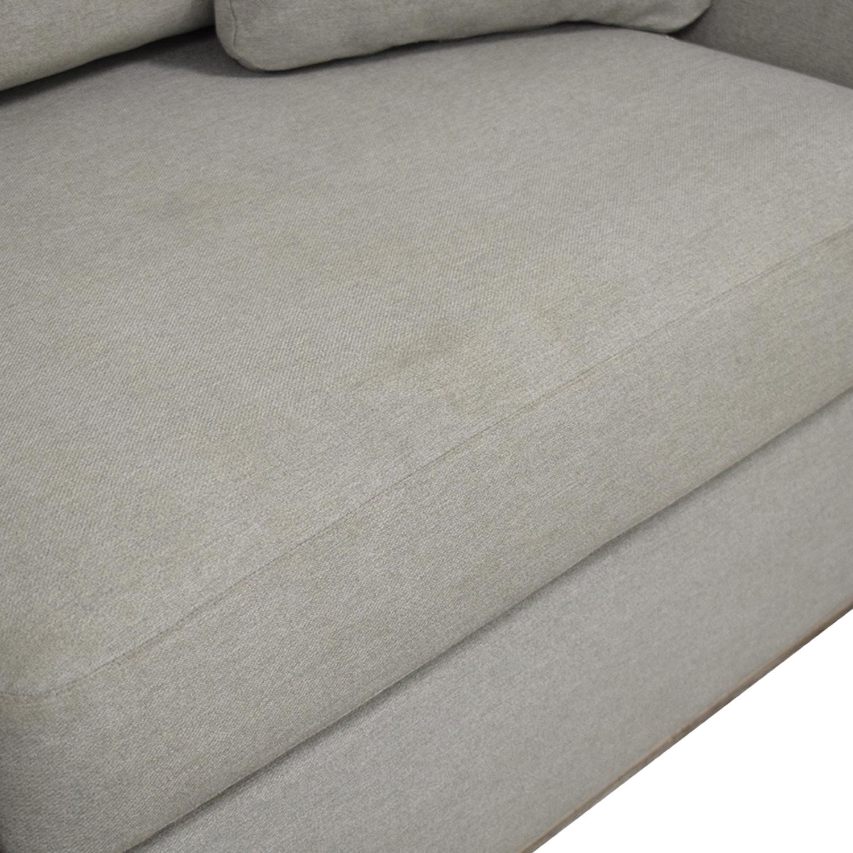 Modani Modani Modern Two Seater Sofa Classic Sofas