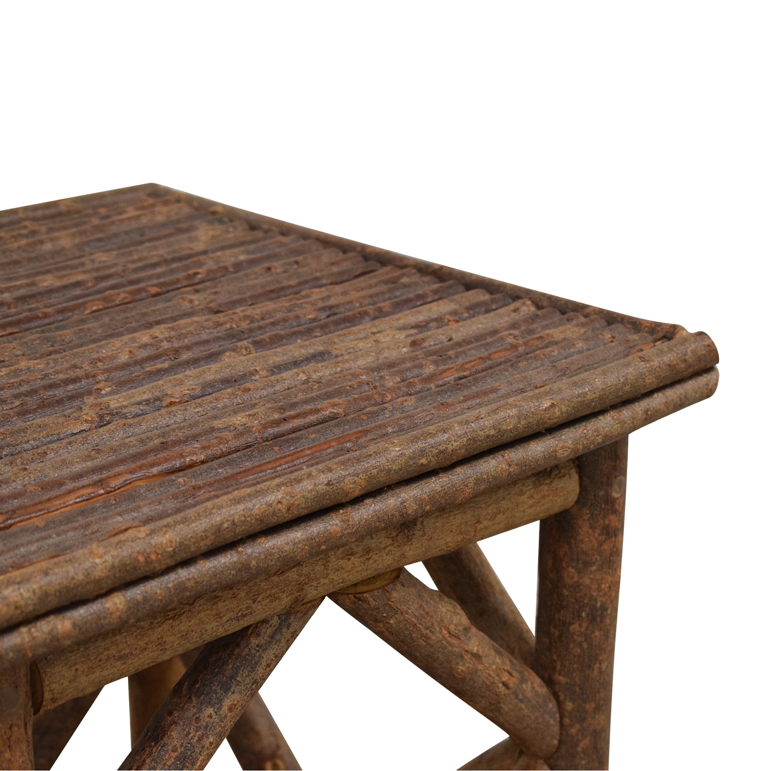 La Lune Collection Rustic End Table ma