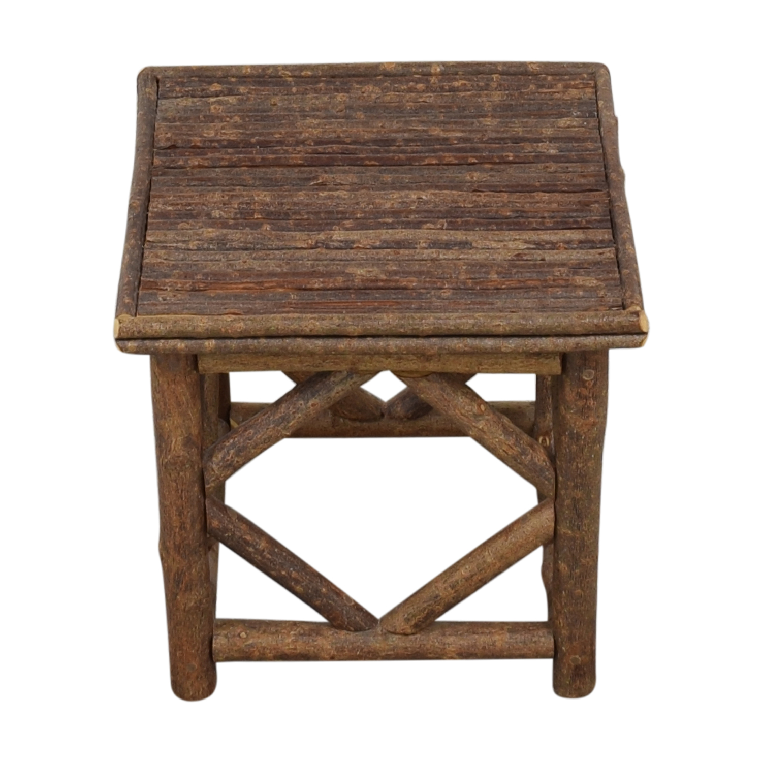 La Lune Collection Rustic End Table nyc