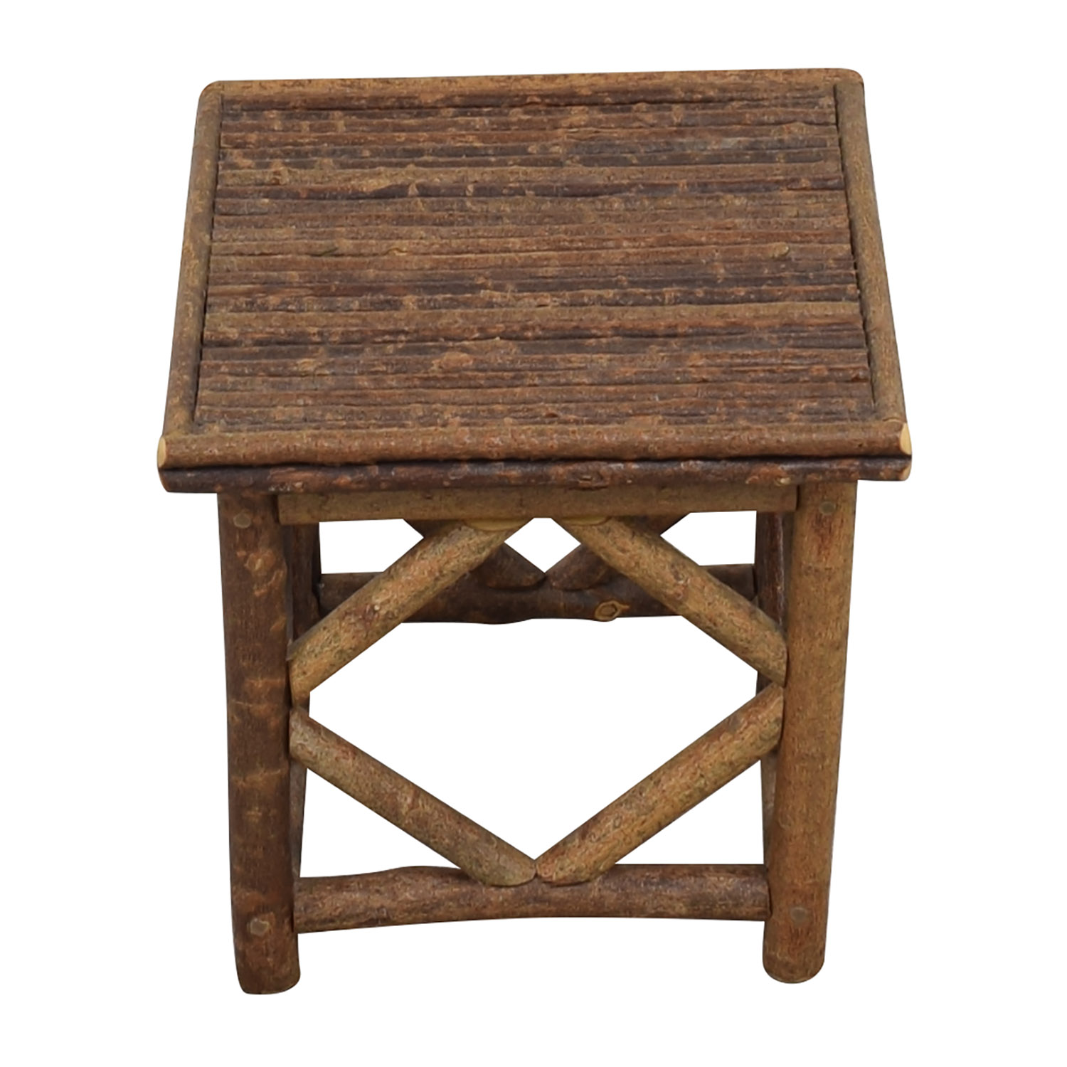 La Lune Collection Rustic End Table