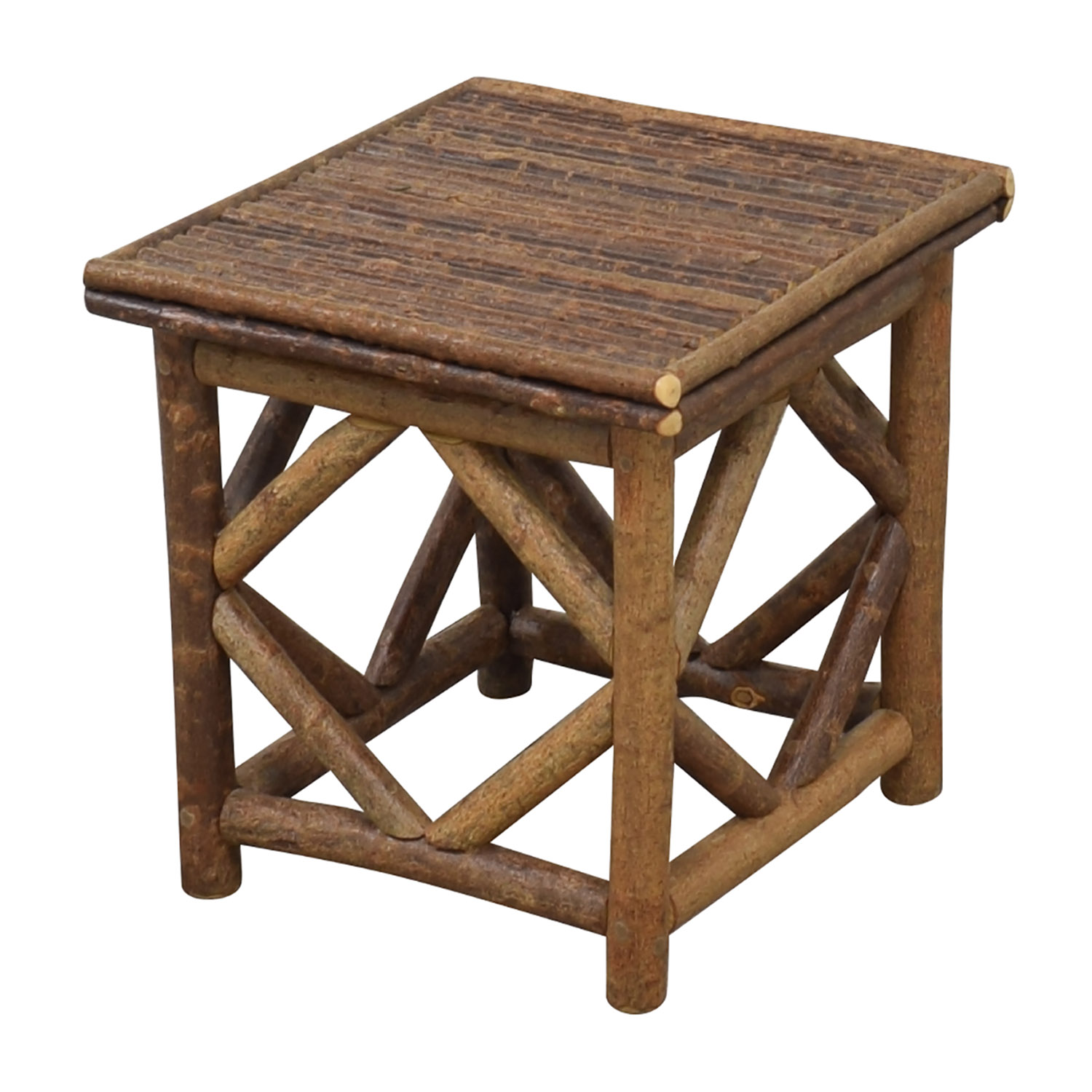 La Lune Collection Rustic End Table on sale