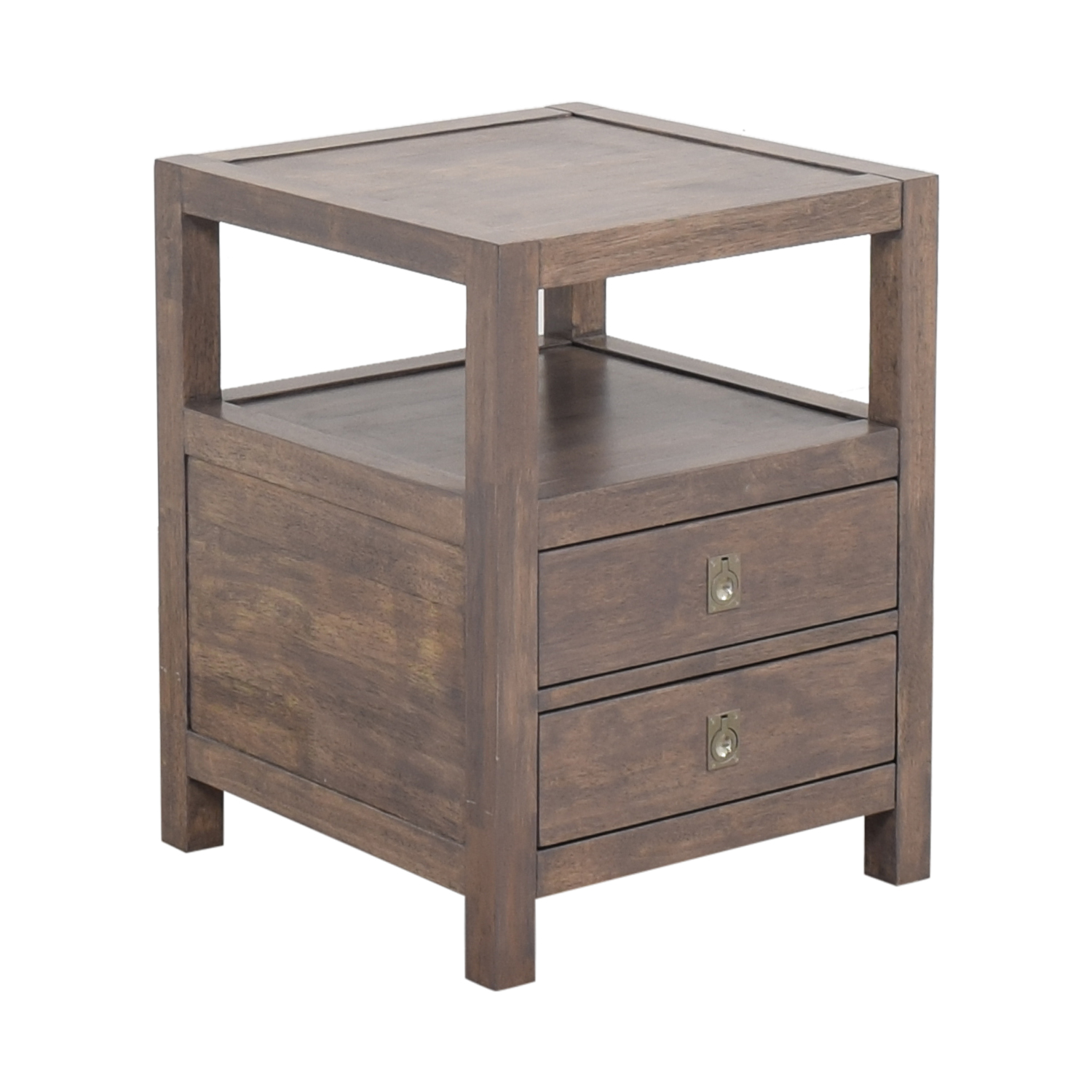 shop Two Drawer End Table