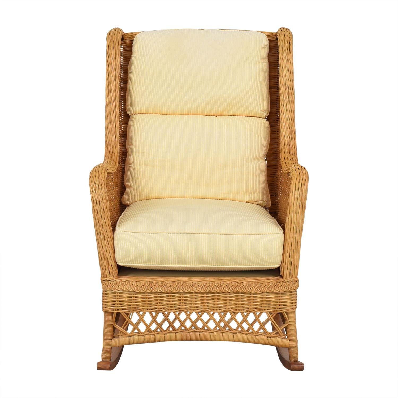 shop Thomasville Rocker Chair Thomasville Chairs