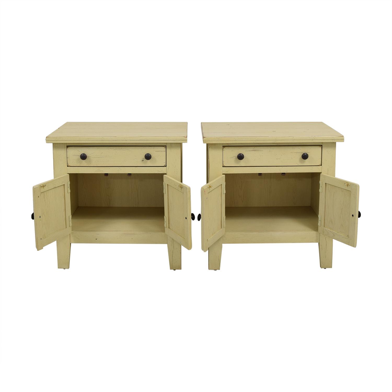 shop Broyhill Attic Heirlooms Door Night Stands Broyhill Furniture Tables