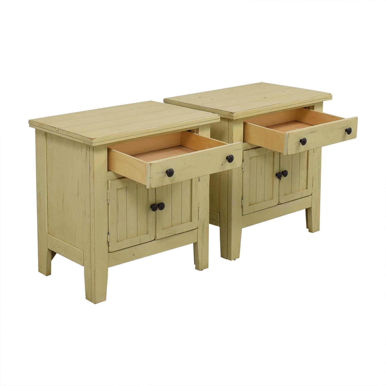 buy Broyhill Furniture Broyhill Attic Heirlooms Door Night Stands online