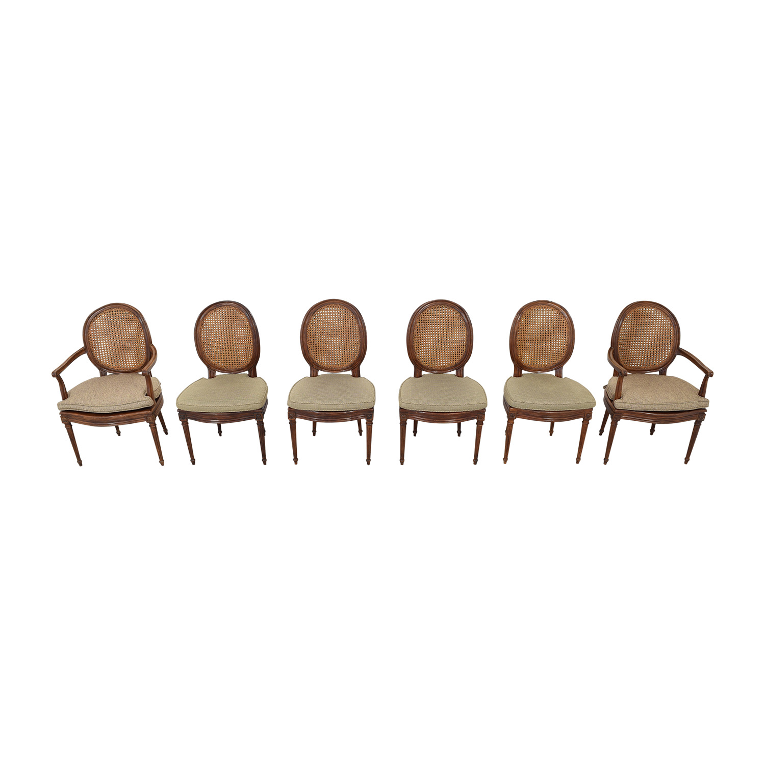 Cane Back Dining Chairs