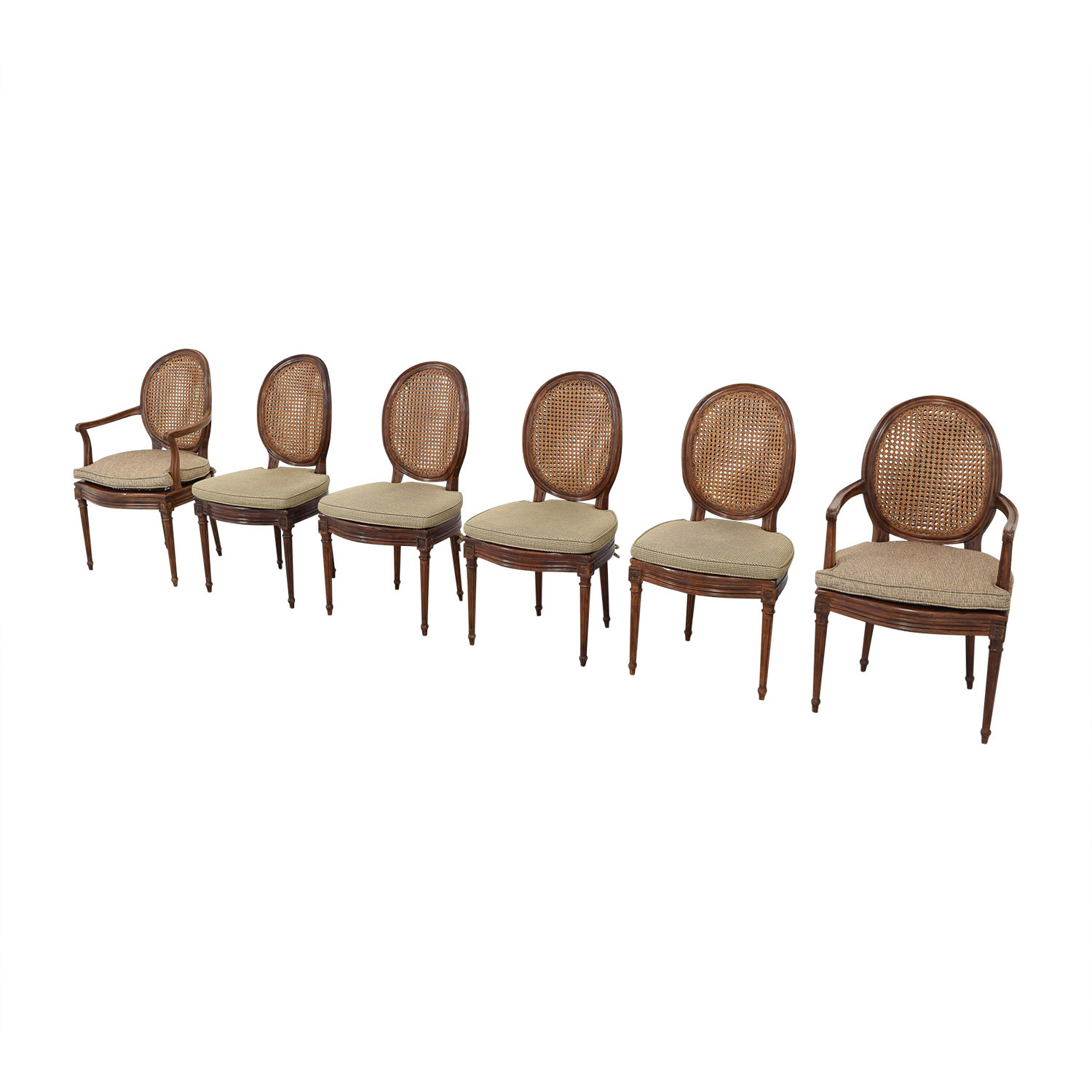 Cane Back Dining Chairs Dining Chairs