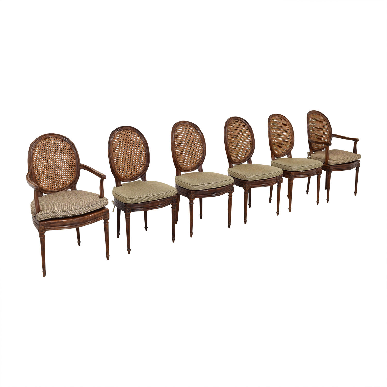 Cane Back Dining Chairs ct