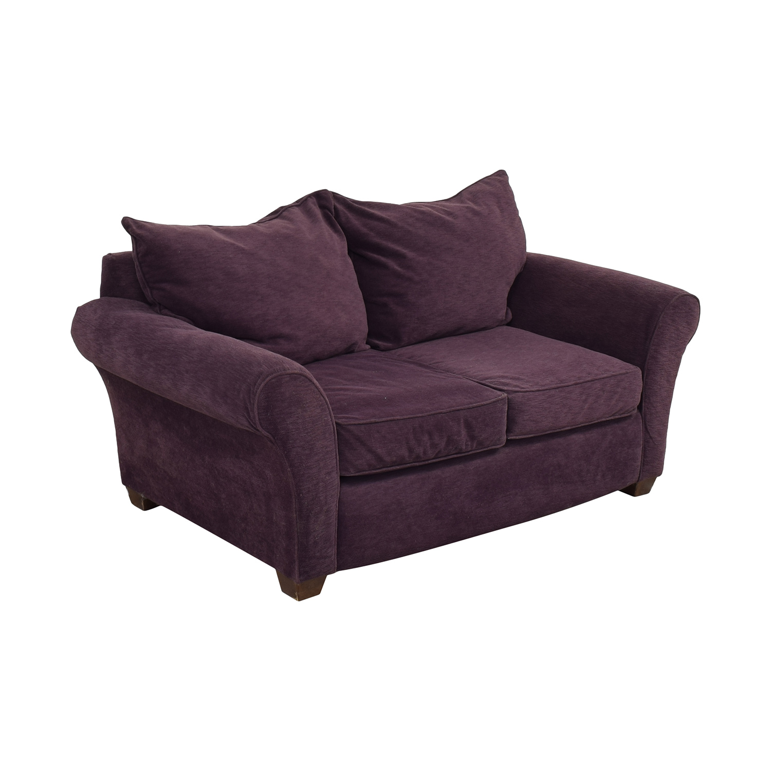 Alan White Roll Arm Loveseat / Loveseats