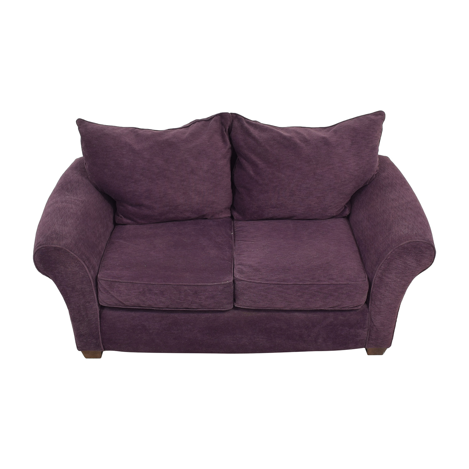 Alan White Alan White Roll Arm Loveseat coupon