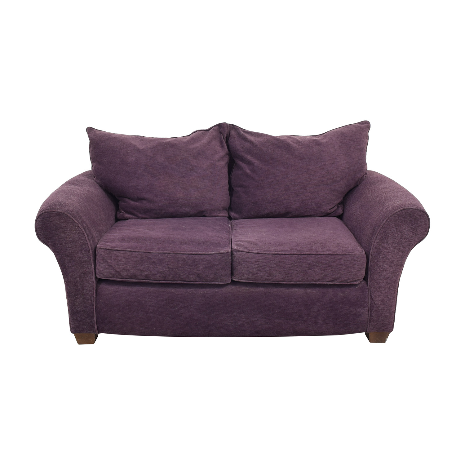 shop Alan White Roll Arm Loveseat Alan White Sofas