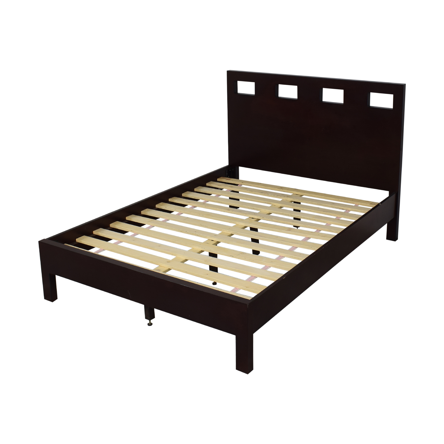 Modus Furniture Modus Furniture Riva Full Platform Bed Frame dimensions