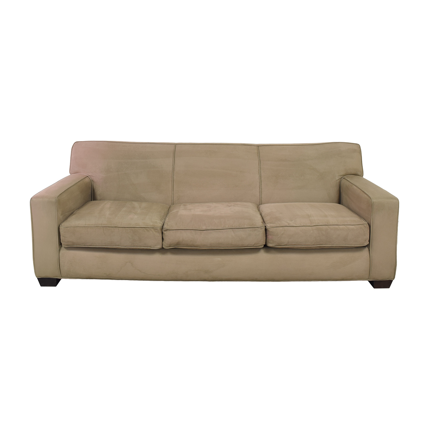Crate & Barrel Three Cushion Sofa sale